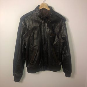Members Only Vintage Leather Jacket